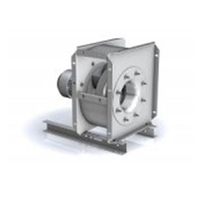 Ventilator centrifugal monoaspirant rezistent la foc