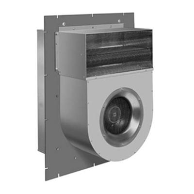 Ventilator antifoc tip perete utilizat in sistemele de desfumare